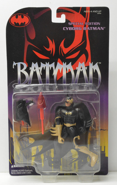 Kenner WBSS Cyborg Batman Special Edition Action Figure