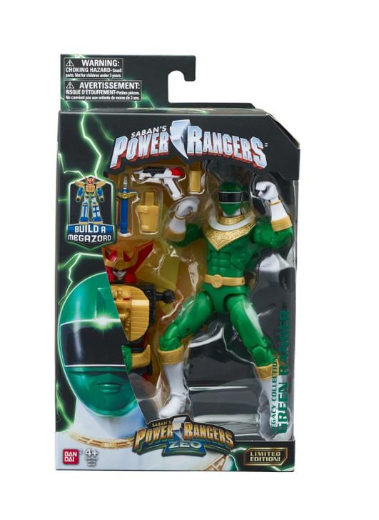 """Hasbro Power Rangers ZEO Green Ranger 6"""" Action Figure"""