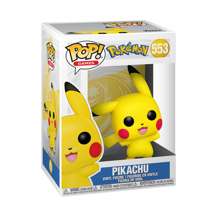 Funko Pop! Games Pokemon Pikachu #553