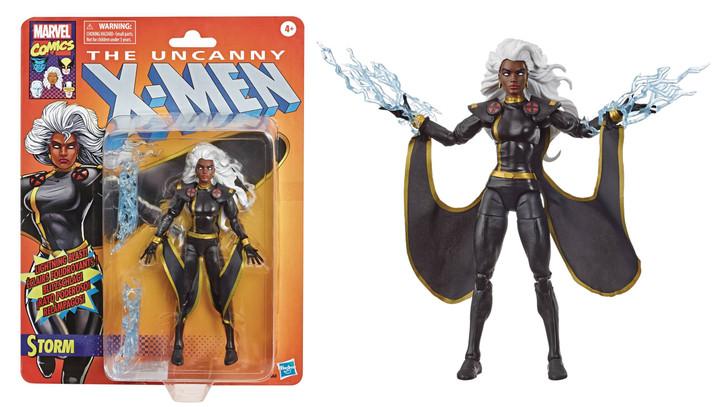 Hasbro Marvel Legends Retro Storm Black Costume Variant Action Figure