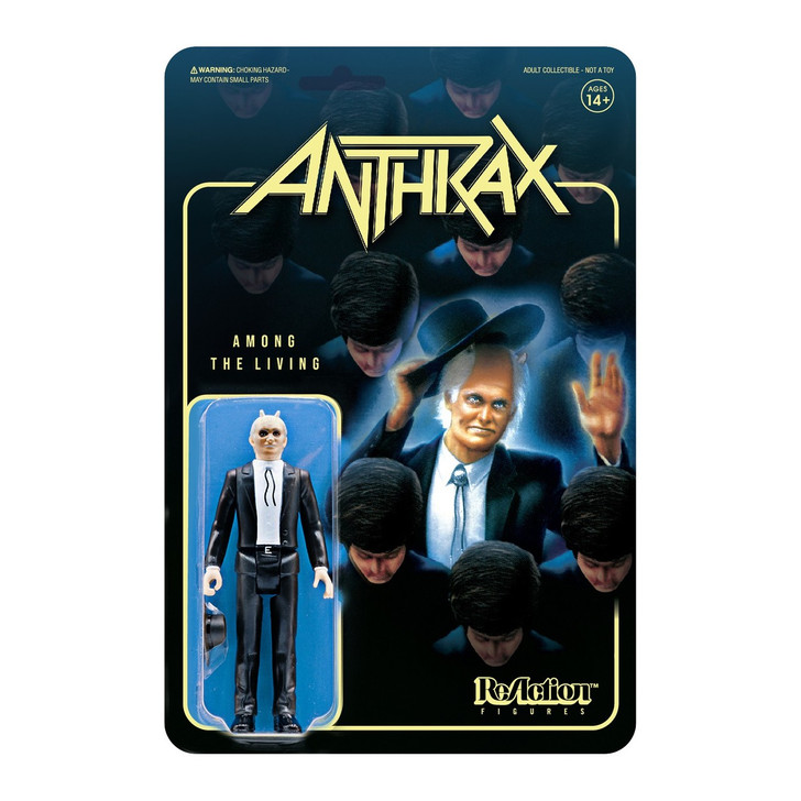 "Super7 Anthrax Among the Living Preacher 3.75"" ReAction Figure"