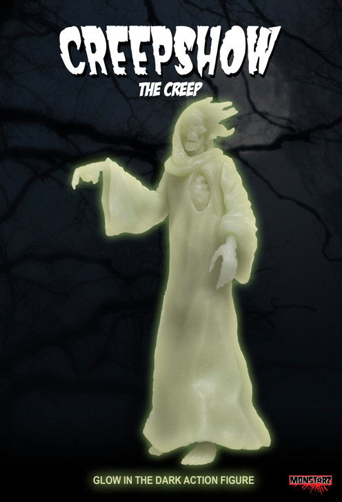 "Monstarz Creepshow ""The Creep"" 3.75"" Scale Retro Action Figure Glow Exclusive"