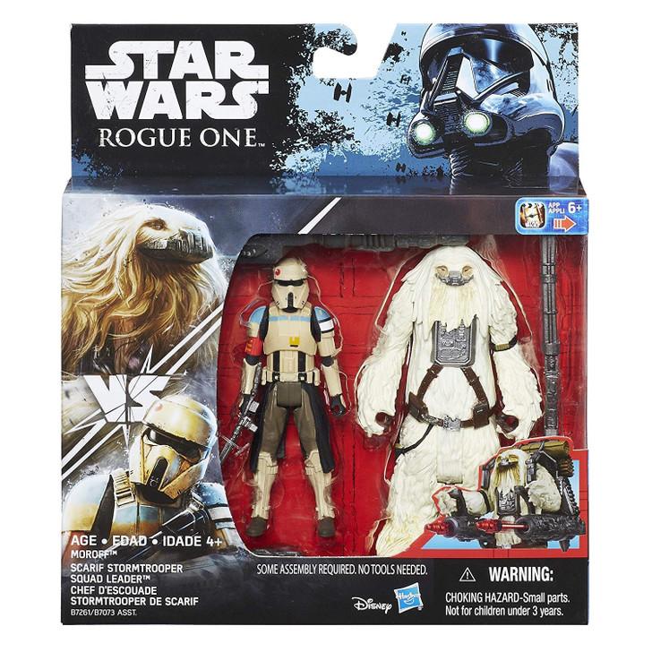 Hasbro Star Wars Moroff and Scarif Stormtrooper Action Figure set