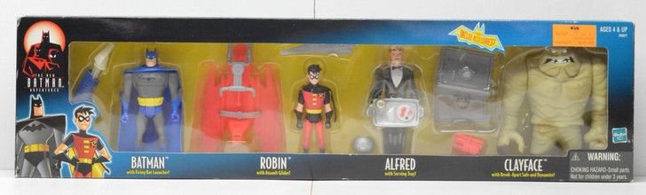 Hasbro Batman The New Adventures Alfred action figure 4 pack