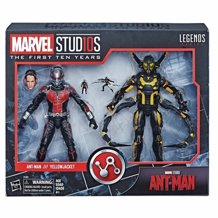 Hasbro Marvel Legends Ant-Man and Yellowjacket action figure two pack