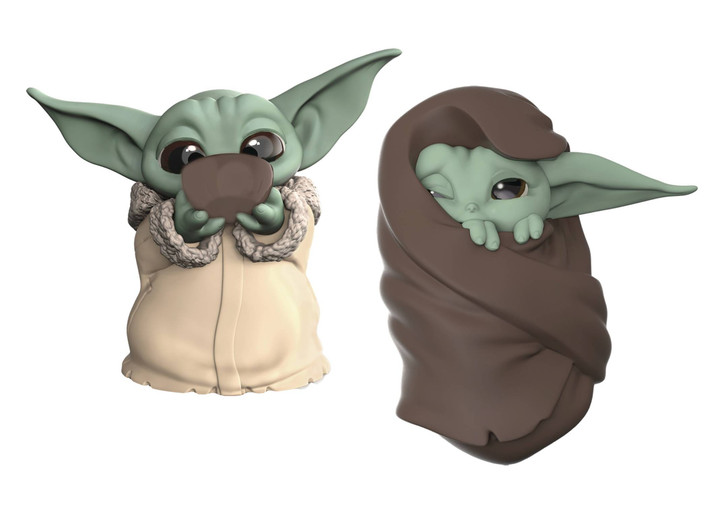 Hasbro Star Wars The Mandalorian The Child Baby Bounties Blanket 2 Pack