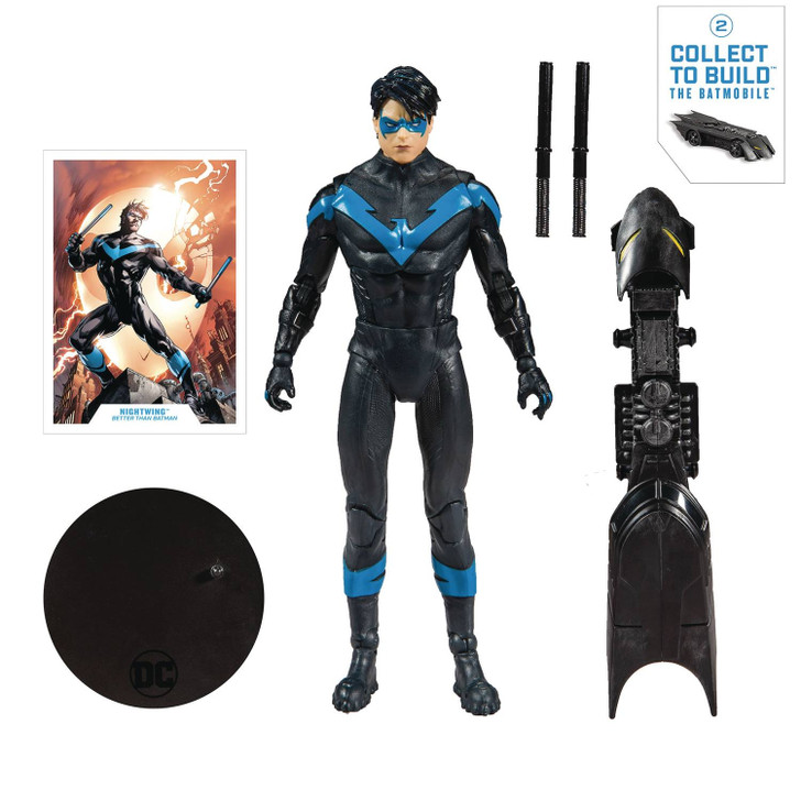 McFarlane DC Collectors Wave 1 Nightwing 7in Action Figure