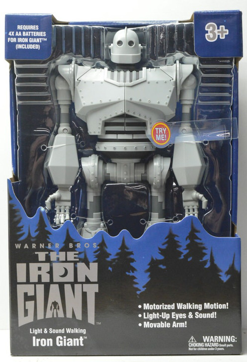 Goldlok The Iron Giant Electronic Action Figure