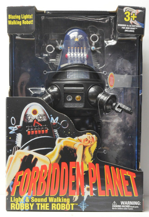 Goldlok Forbidden Planet Robby The Robot Action Figure