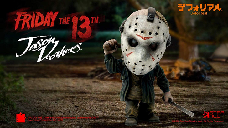 Star Ace Friday the 13th Jason Voorhees Defo-Real Vinyl Collectible Figure