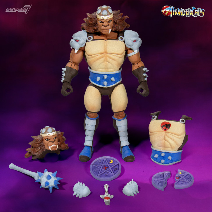 Super7 ThunderCats Ultimates Grune the Destroyer Action Figure