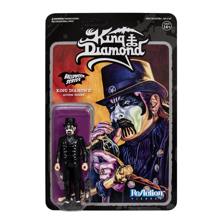 """Super7 King Diamond with Hat 3.75"""" ReAction Figure"""