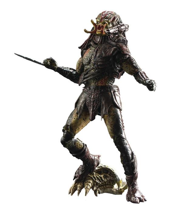 HIYA Unmasked Berserker Predator 1/18 scale action figure