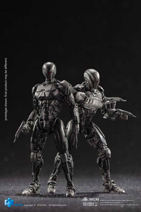 HIYA ROBOCOP 2014 EM208 1/18 scale action figure Two pack