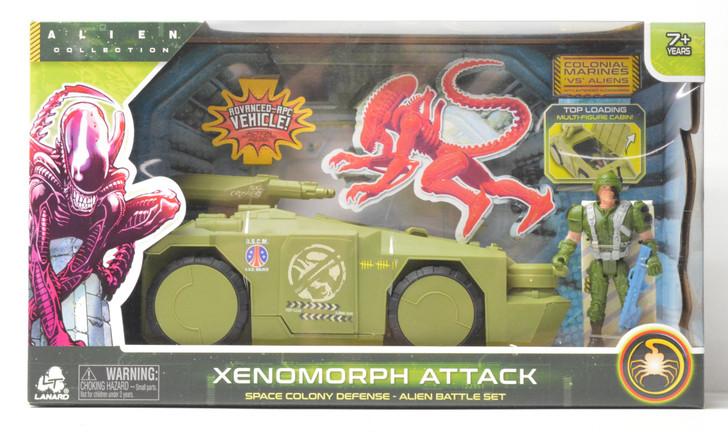 Lanard Alien Xenomorph Attack Space Colonial Defense APC Vehicle