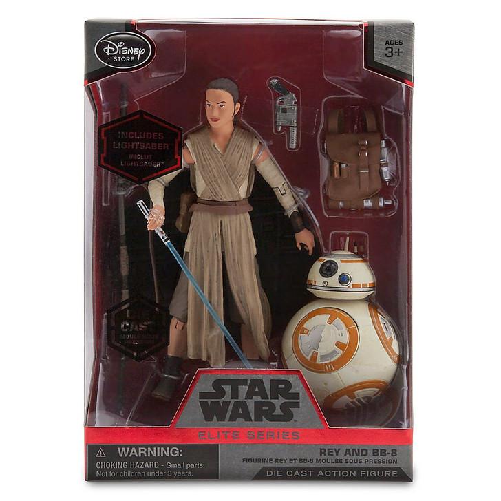Disney Star Wars Rey with BB-8 Elite Series Action Figure