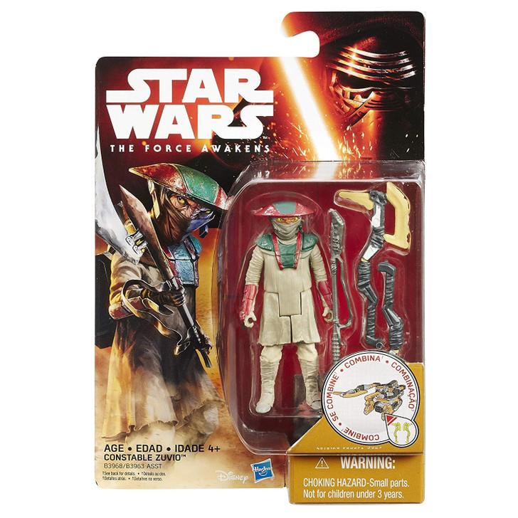 Hasbro Star Wars Force Awakens Constable Zuvio Action Figure