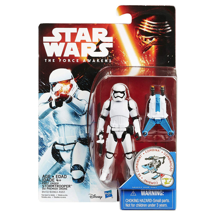 Hasbro Star Wars Force Awakens First Order Snow Mission Stormtrooper Action Figure
