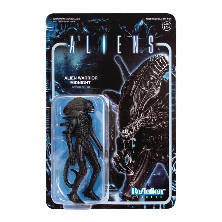 "Super7 Aliens Alien Warrior Nightfall 3.75"" ReAction Figure"