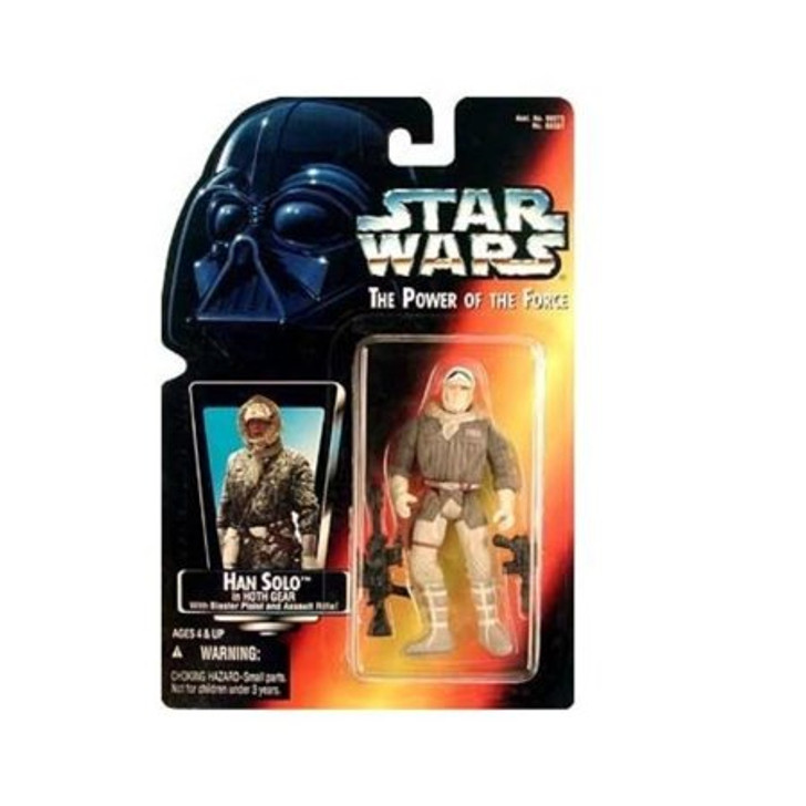 Kenner Star Wars POTF Han Solo Hoth Gear Action Figure