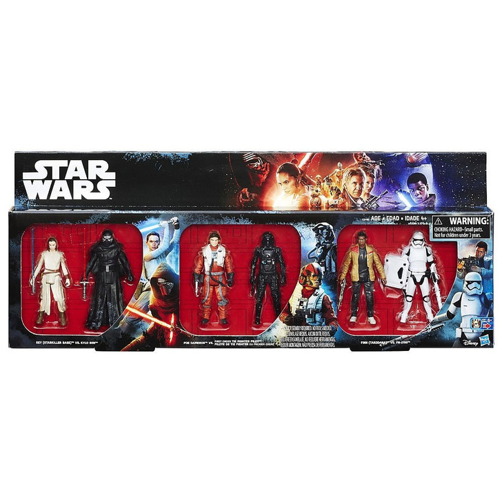 Hasbro Star Wars The Force Awakens Action Figure 6 pack