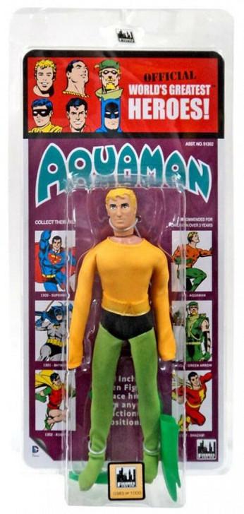 Figures Toy Co. DC Comics Aquaman Kresge Card 8in action figure