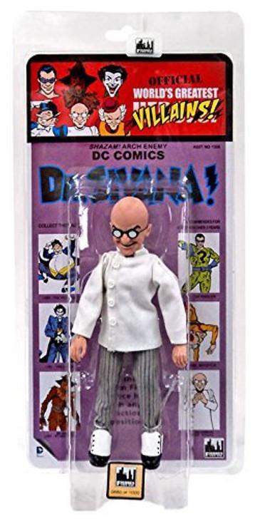Figures Toy Co. DC Comics Dr. Sivana Kresge Card 8in action figure