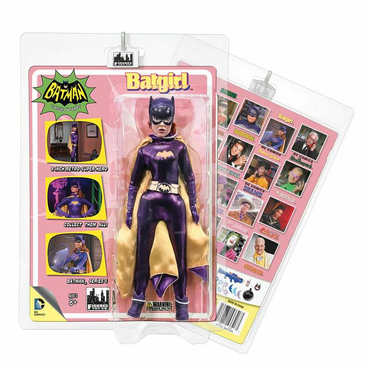 Figures Toy Co. Batman 1966 Batgirl 8in action figure