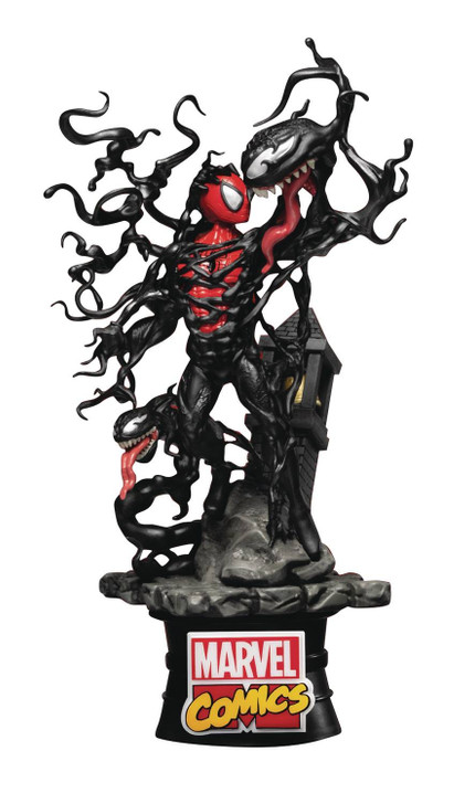 Beast Kingdom Marvel Spider-Man vs Vemom DS-040 D-Stage Statue