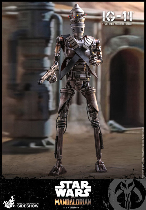 Hot Toys Star Wars The Mandalorian IG-11 - Television Masterpiece Series Sixth Scale Figure