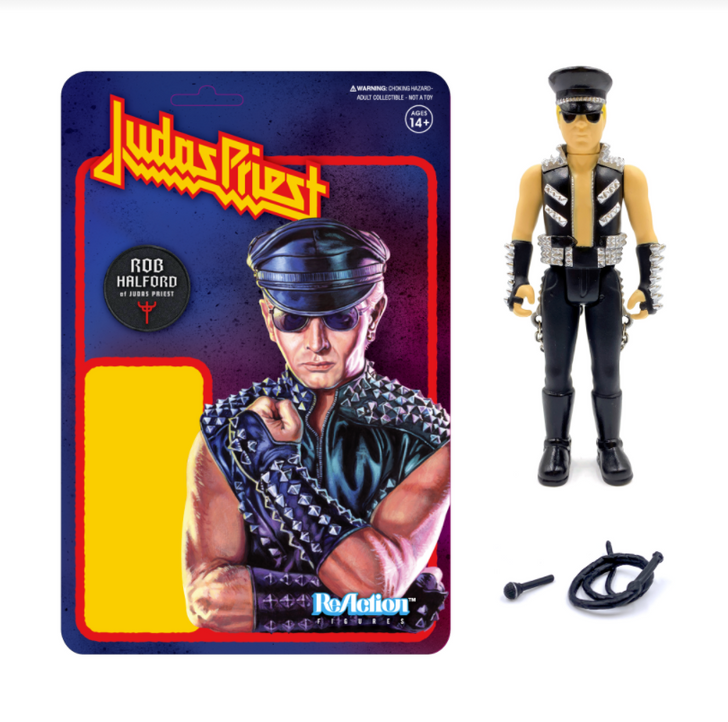 "Super7 Judas Priest Rob Halford 3.75"" ReAction Figure"