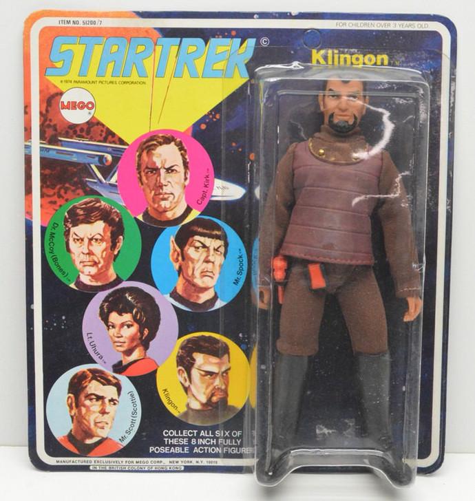 Mego VINTAGE 1974 Star Trek Klingon Action Figure