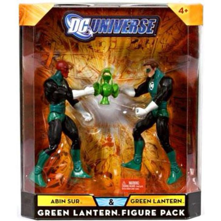 Mattel DC Universe Abin Sur and Green Lantern Action Figure 2 pack