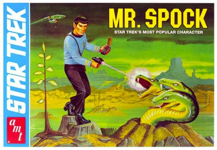 AMT Star Trek Commemorative Edition Model Kit - Mr. Spock