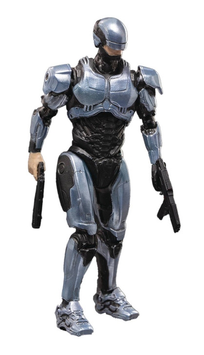 HIYA ROBOCOP 2014 Silver armor 1/18 scale action figure