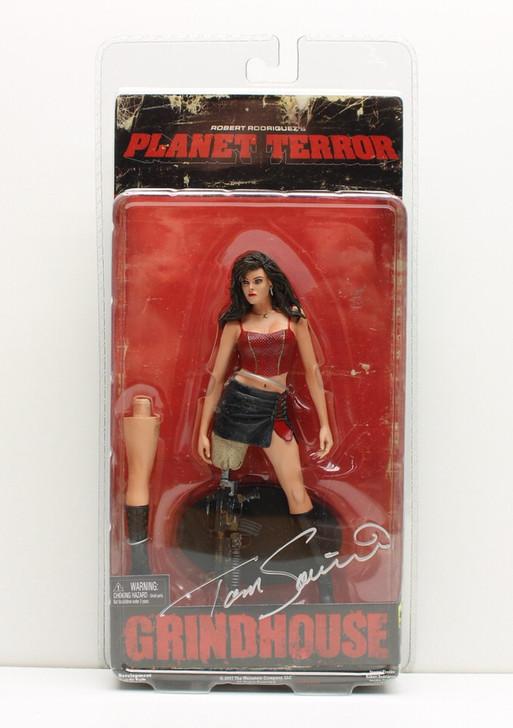 NECA Grindhouse Planet Terror Cherry Action Figure (Tom Savini Signed)