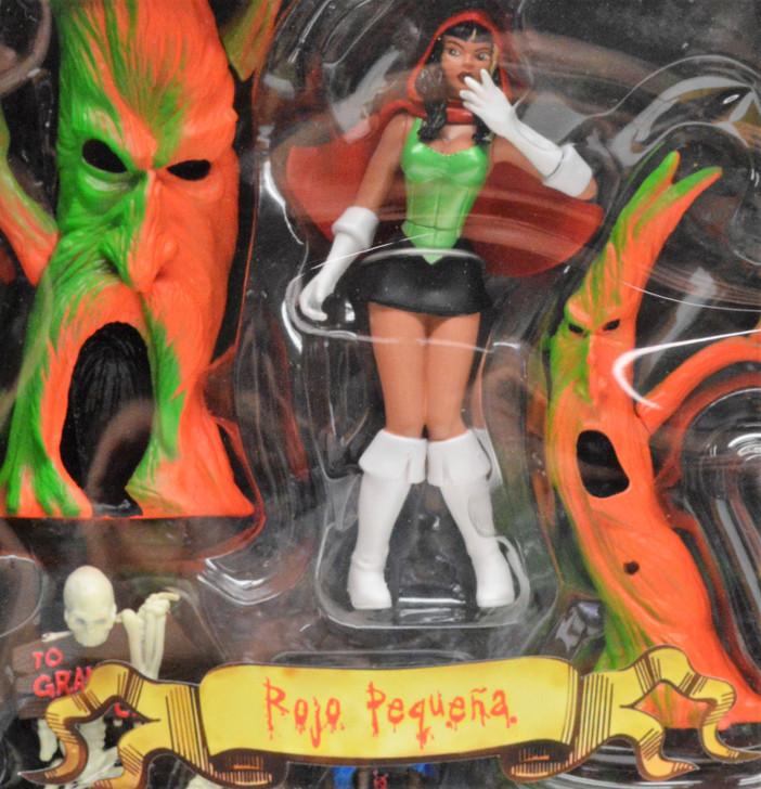 Mezco Scary Tales Rojo Pequena