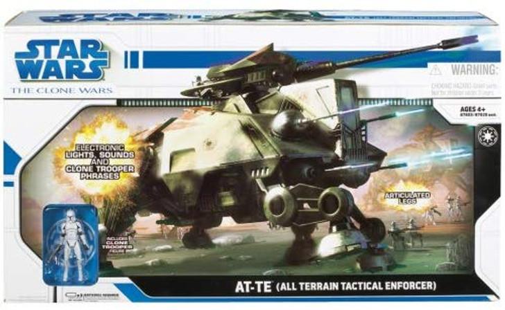 Hasbro Star Wars The Clone Wars AT-TE (All Terrain Tactical Enforcer) Vehicle