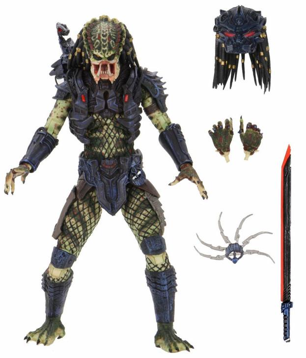 """NECA Predator 2 - 7"""" Scale Action Figure - Ultimate Armored Lost Predator"""