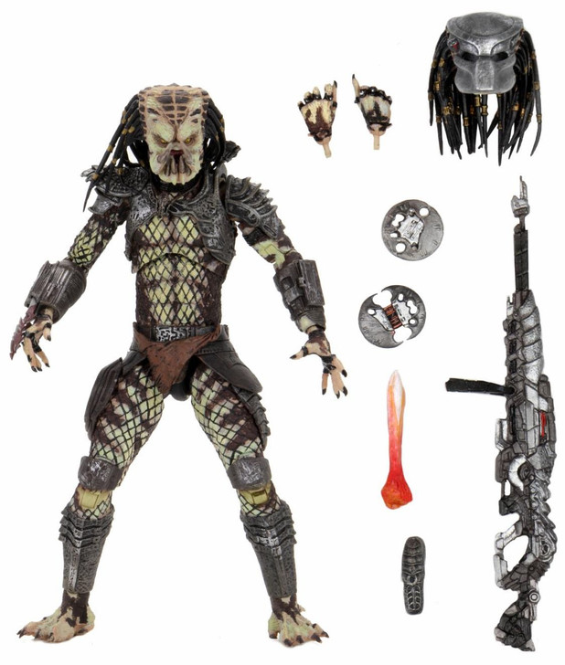 "NECA Predator 2 - 7"" Scale Action Figure - Ultimate Scout Predator"