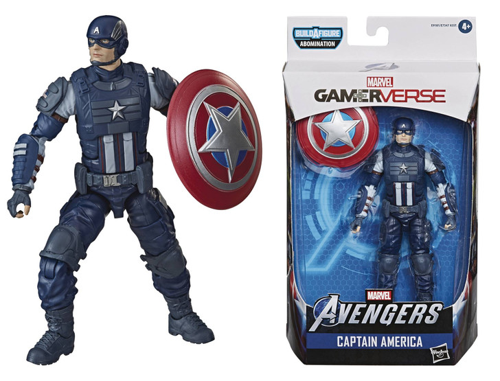 Hasbro Marvel Legends Video Game Captain America Action Figure