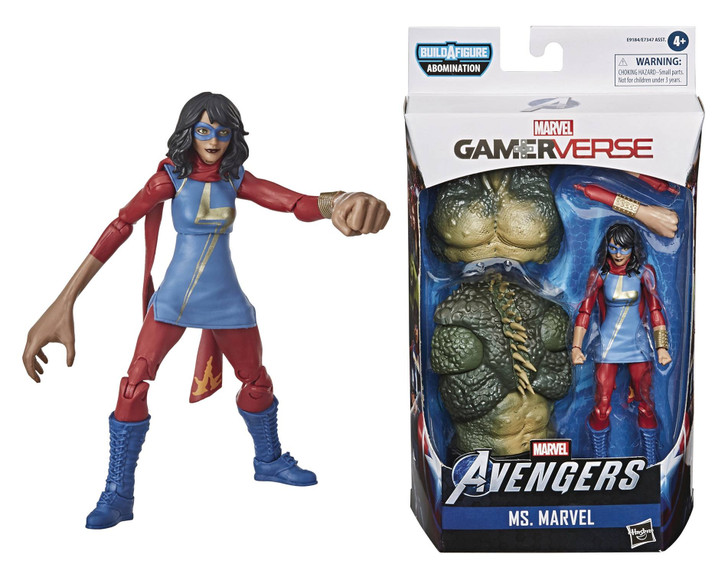 Hasbro Marvel Legends Video Game Kamala Khan Action Figure
