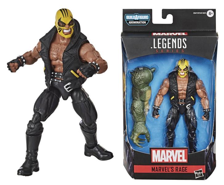 Hasbro Marvel Legends Rage Action Figure