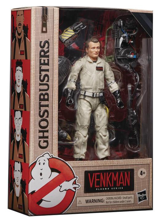 Hasbro Ghostbusters Plasma Series Venkman Action Figure