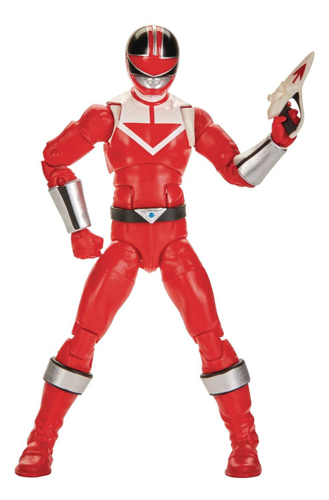 "Hasbro Power Rangers Lightning Collection Time Force Red Ranger 6"" Action Figure"