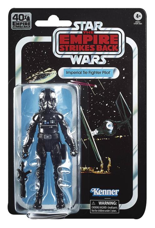 Hasbro Star Wars 40th anniversary 6in TIE Fighter Pilot action figure