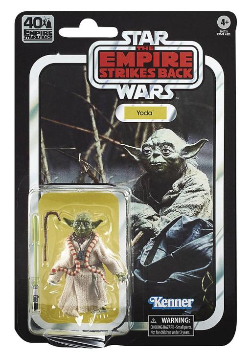 Hasbro Star Wars 40th anniversary 6in Yoda action figure