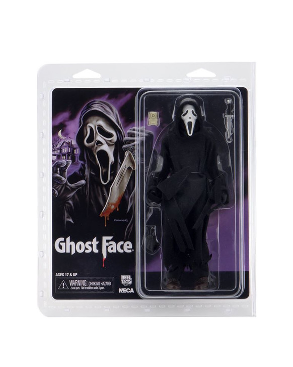 """NECA Ghostface – 8"""" Clothed Action Figure – Ghostface (Updated)"""