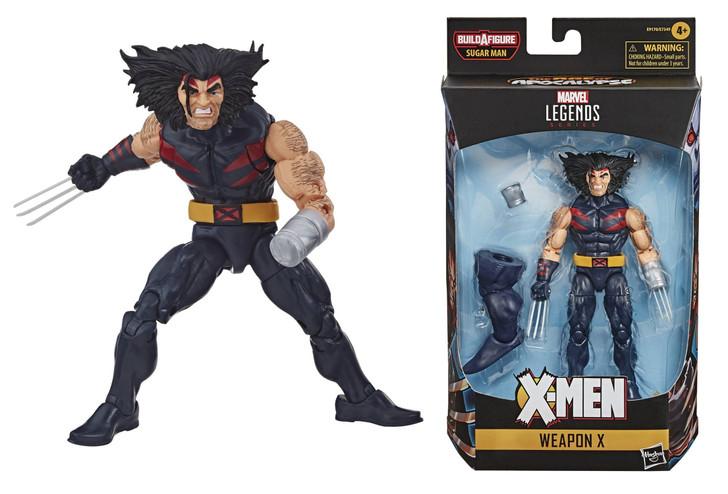 Hasbro Marvel Legends Weapon X Action Figure