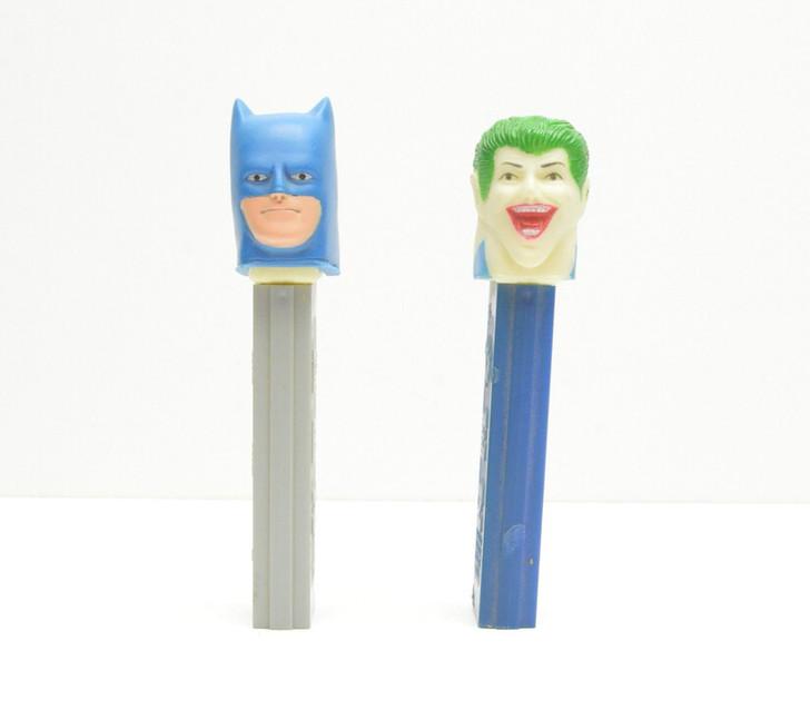 Pez 1978 Batman and Joker set Mego Rubber Heads